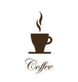 Coffe cup image - design element vector image vector image