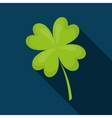 Clover lucky irish leaf design vector image