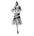 fashion41 vector image