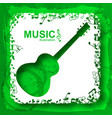 musical light background vector image