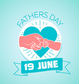 19 may fathers day vector image