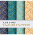 Art Deco seamless pattern 11 vector image