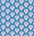 Cartoon diamond background vector image
