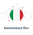independence day of italy patriotic banner vector image