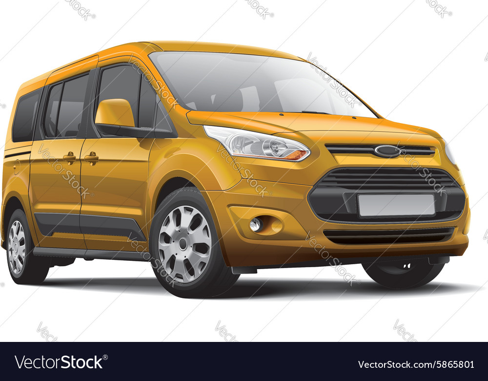 American leisure activity vehicle vector