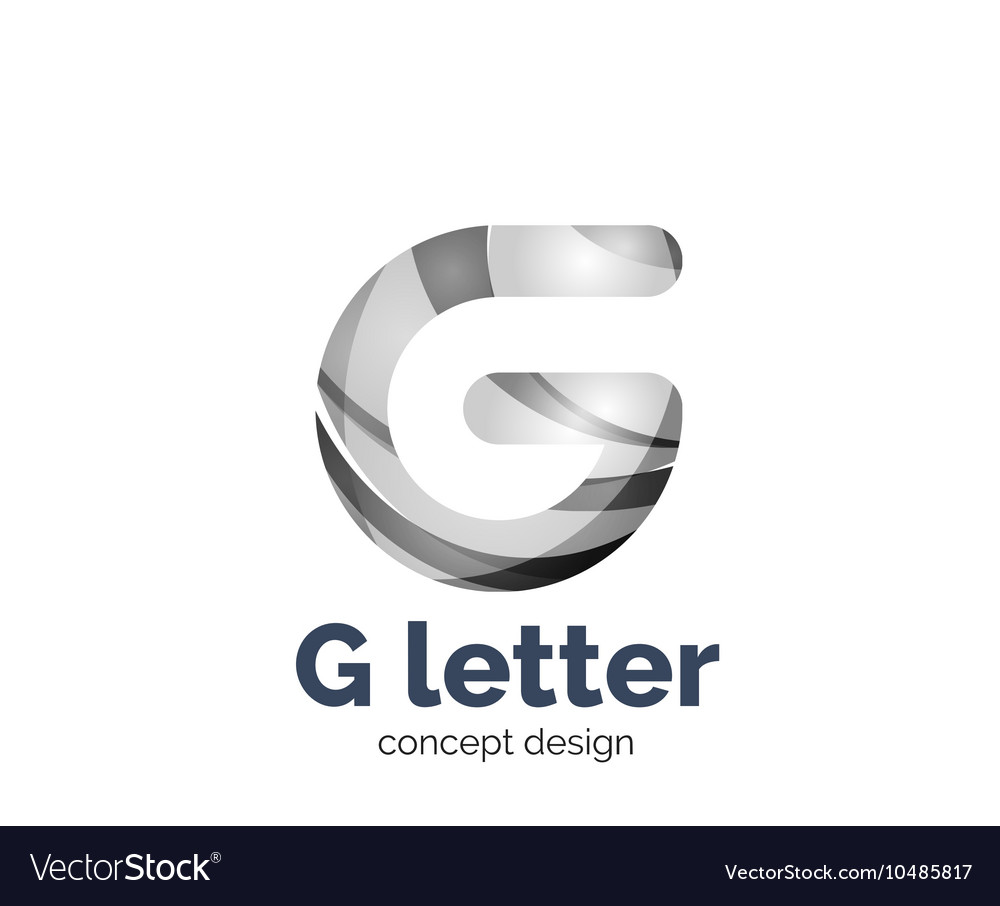 G letter logo icon vector