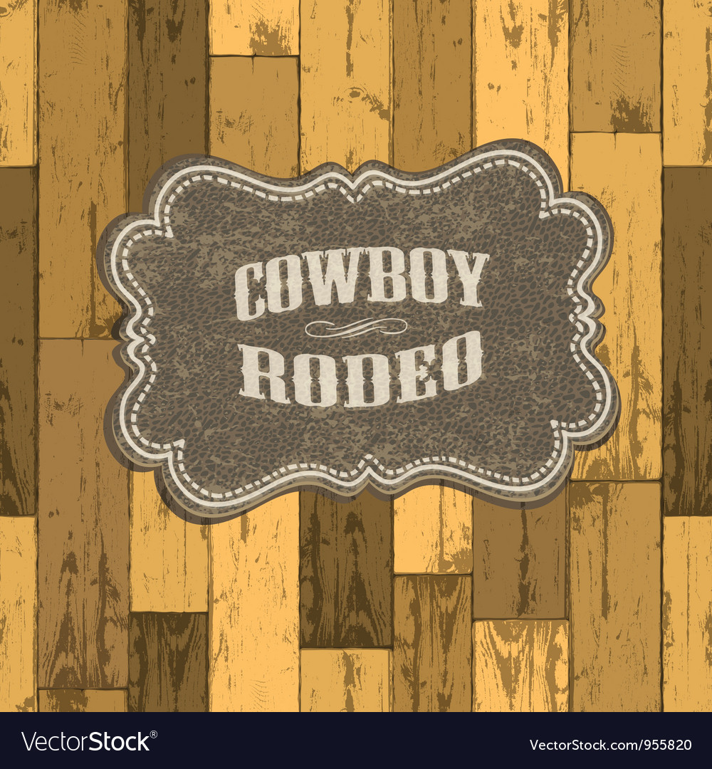 Wild west background vector