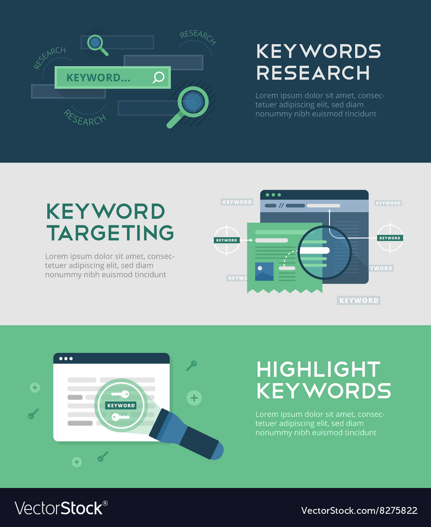 Keywords optimization vector