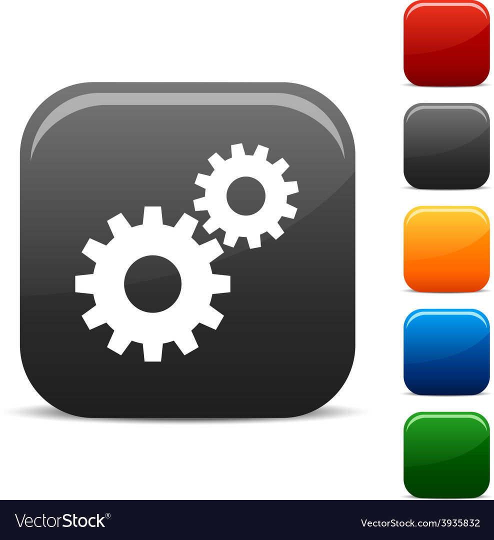 Settings icons vector