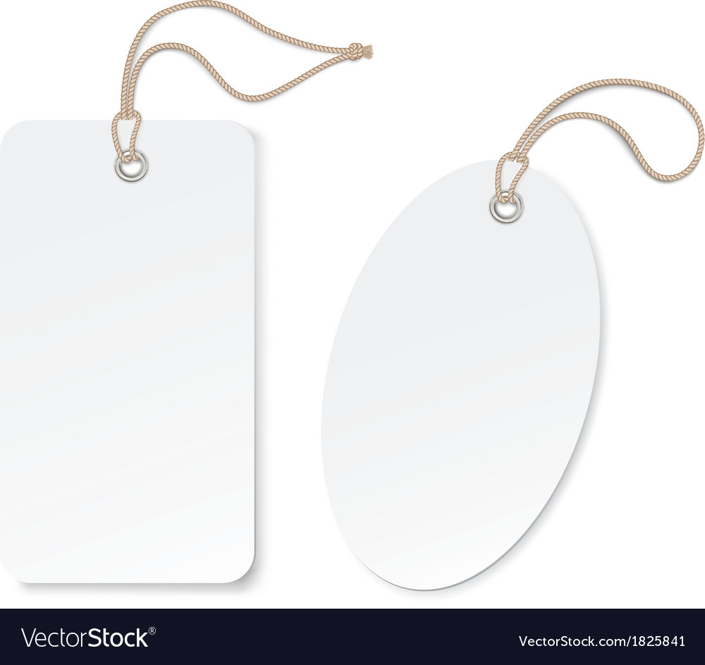 Label tag isolated on white background vector