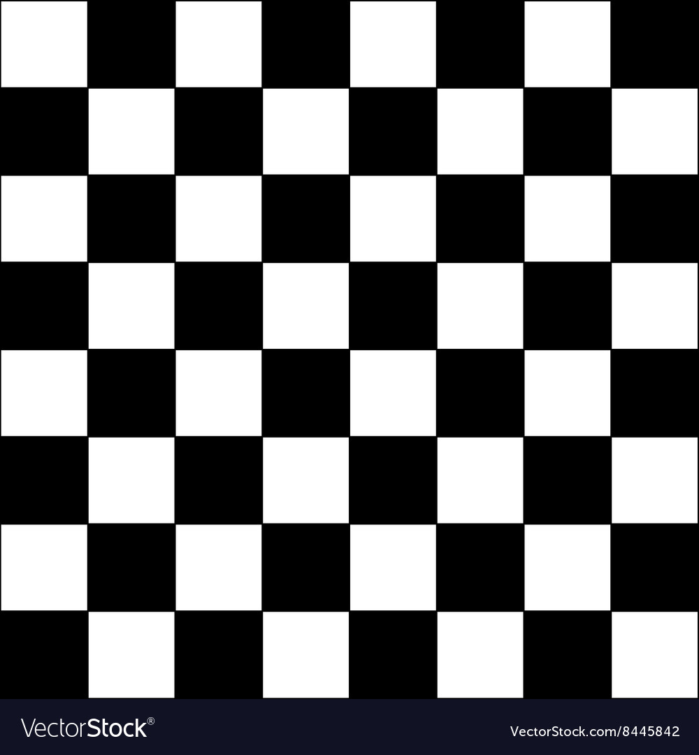 Modern chess board background pattern vector