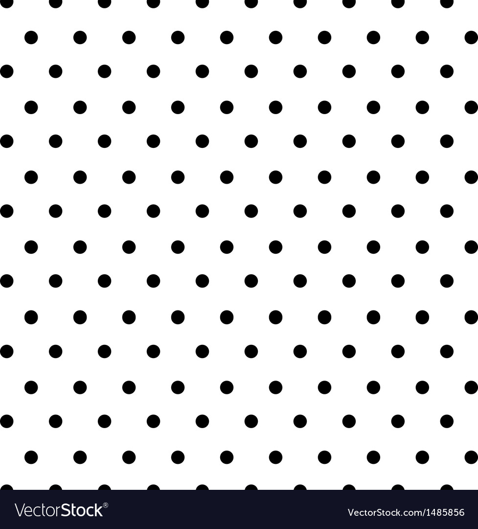 Transparent seamless polkadots background vector