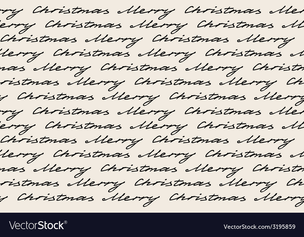 Merry christmas words vector