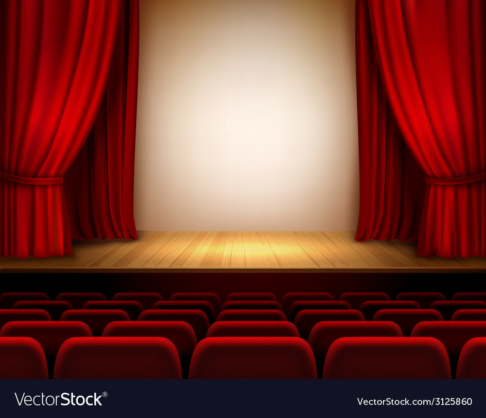 Ter stage background vector