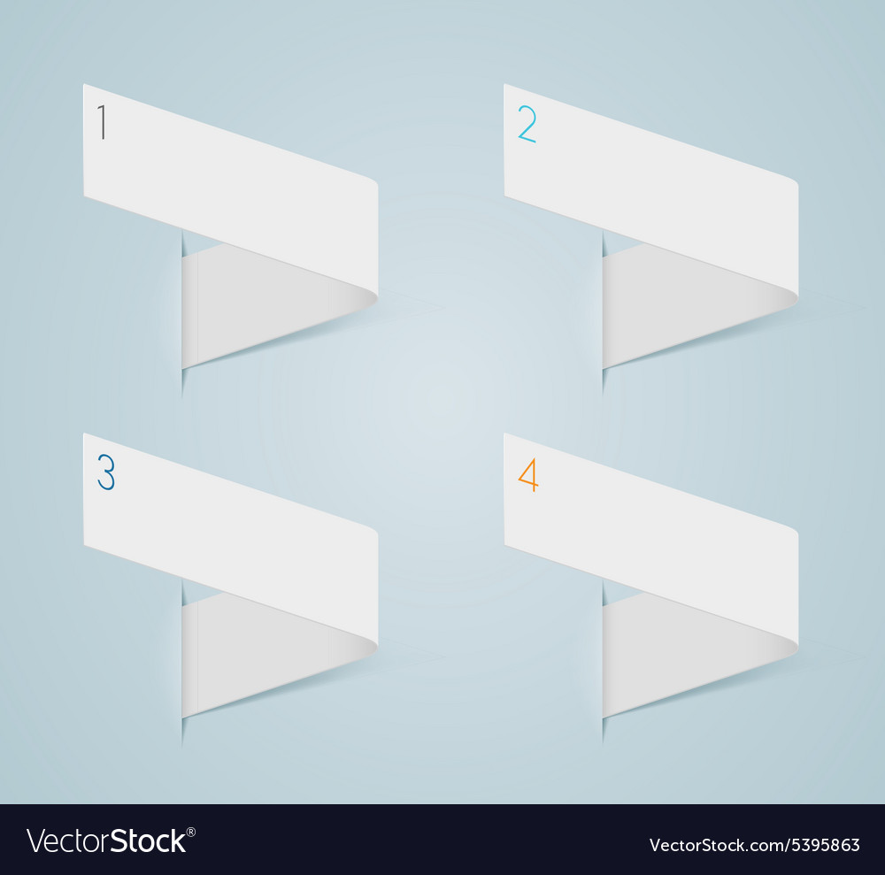 Infographic 3d numbered step bubbles 1 vector