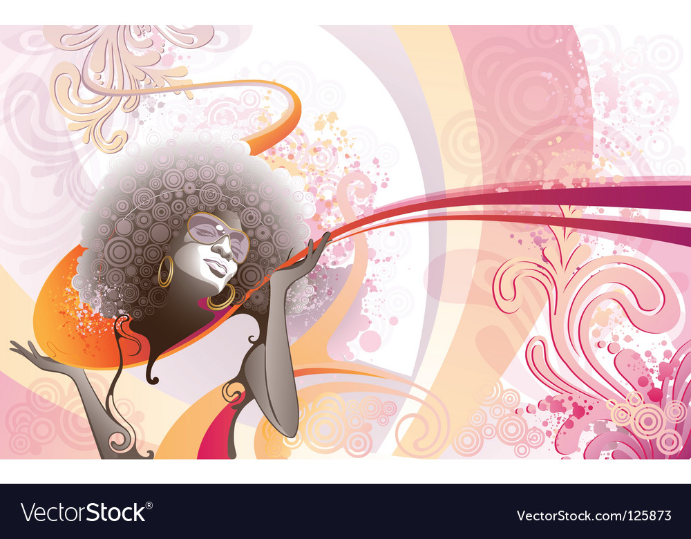 Soul vibes vector
