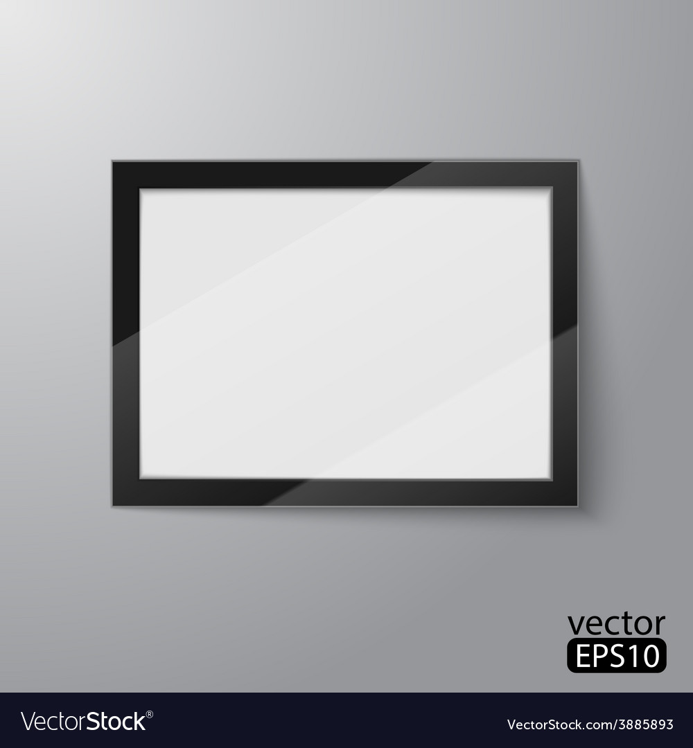 Digital frame vector