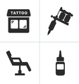 Tattoo Icons vector image