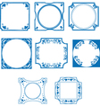 dutch tiles vector image