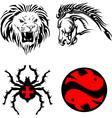 tribal animals vector image