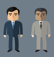business people flat design vector image vector image