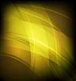 Abstract background with yellow line wave vector image