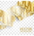 abstract geometric gold background vector image vector image