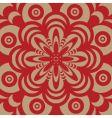 sixties wallpaper design vector image vector image
