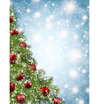 Christmas shining background vector image