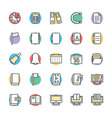 Education Cool Icons 2 vector image