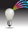 idea Light Bulb Burst vector image