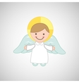 angel wings religion vector image