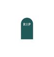 Cemetery Icon vector image