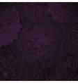 antique purple floral background vector image vector image