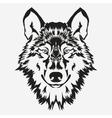 Wolf bolt Emblem vector image