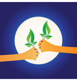 share green vector image vector image