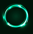 Abstract background with glowing spiral vector image