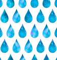 Abstract background drops of water seamless vector image