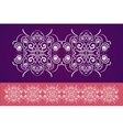 Decorative ornaments vector image