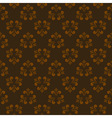 brown seamless abstract pattern 2 vector image