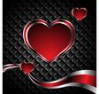 elegance valentine card vector image vector image