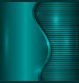 abstract turquoise background with curve and vector image