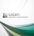 clean abstract background vector image vector image