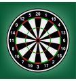dartboard vector image vector image