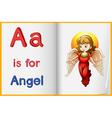 English worksheet vector image vector image