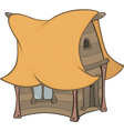 Funny Little House cartoon vector image