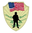 Army of USA vector image