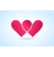 Heart icons logo vector image