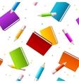 Book School Background vector image