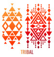 ethnic or tribal ornament elements vector image